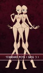 Standard Pose (Base 3) by LucentAngel