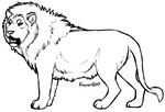 MakeableFreebie Lion and Lioness