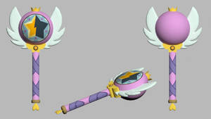 [OBJ/MAX] Star Butterfly/Royal Magic Wand Season 2 by Star-Butterfly