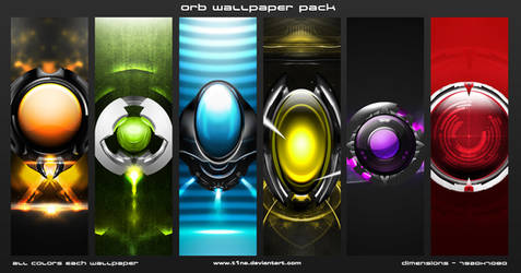 Orb wallpaper pack by t1na