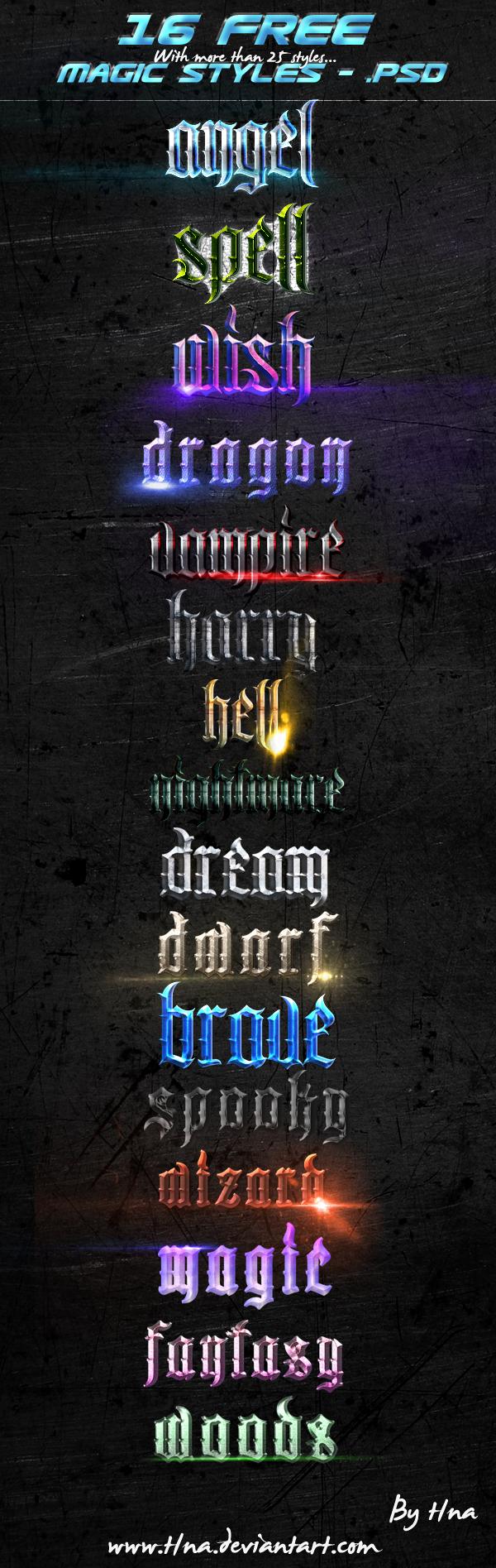 Magic styles