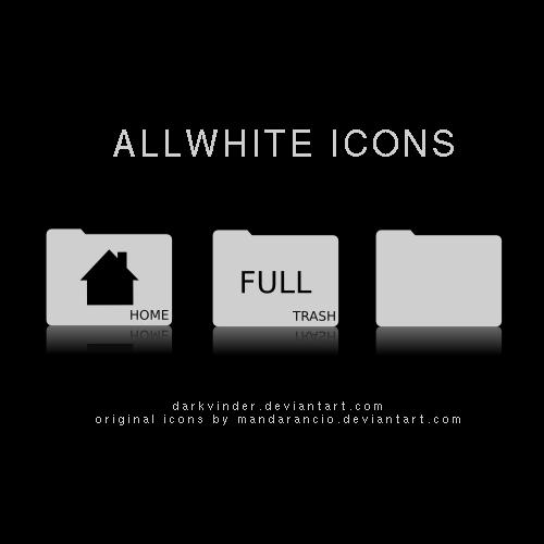 ALLWHITE Icons