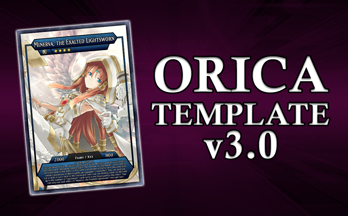 Custom yugioh token orica tutorial with imaxxgman (part 1) youtube.