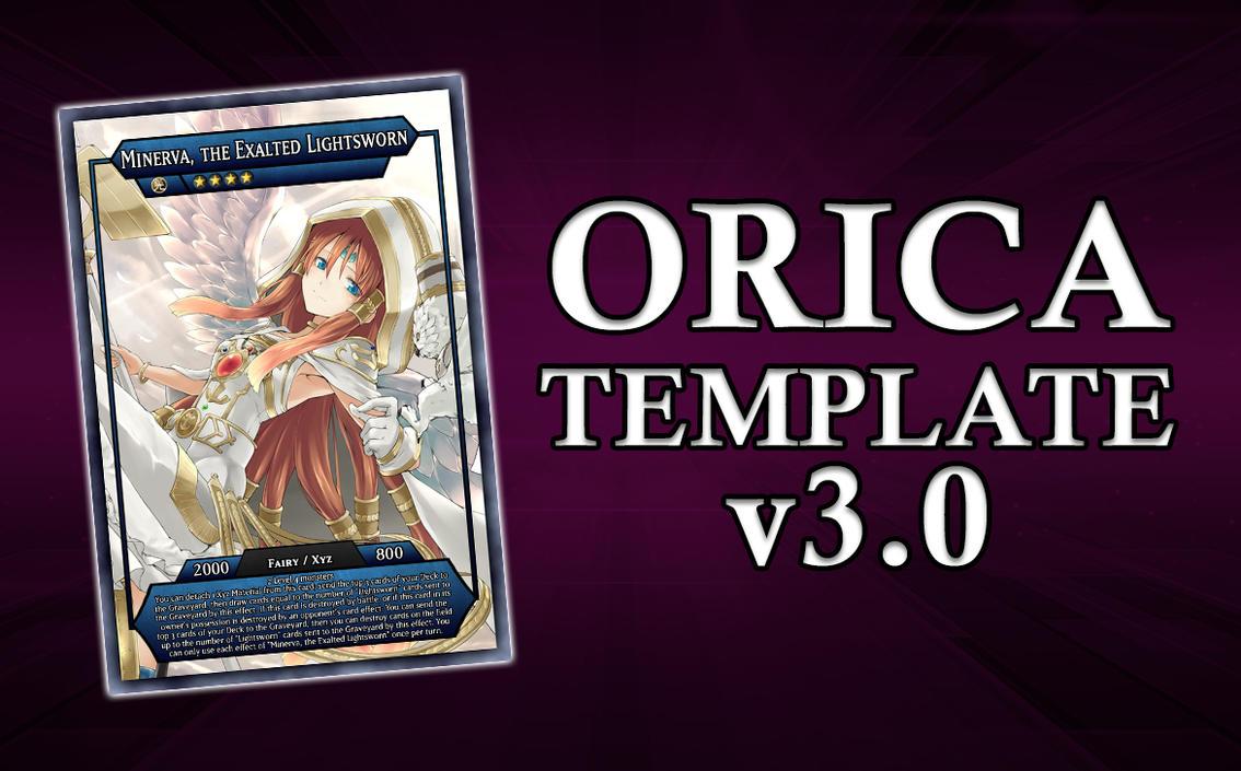 Yu-Gi-Oh! Orica Card Template by Gaia206 on DeviantArt