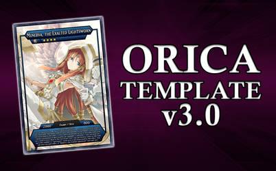 Yu-Gi-Oh! Orica Card Template