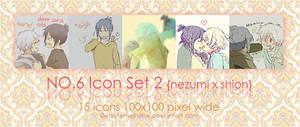 NO.6 icon set 02 by EdotenseiHime