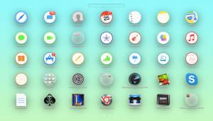 Circular Launchpad Folders (With Install) - Rohan