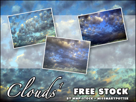 FREE STOCK, Clouds 1