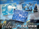 FREE STOCK, Clouds 4