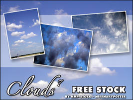 FREE STOCK, Clouds 7 by mmp-stock