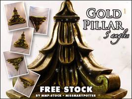 FREE STOCK, Gold Pillar 1 by mmp-stock