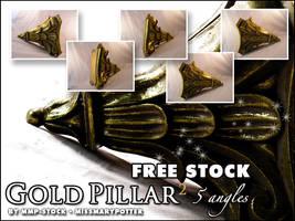FREE STOCK, Gold Pillar 2 by mmp-stock