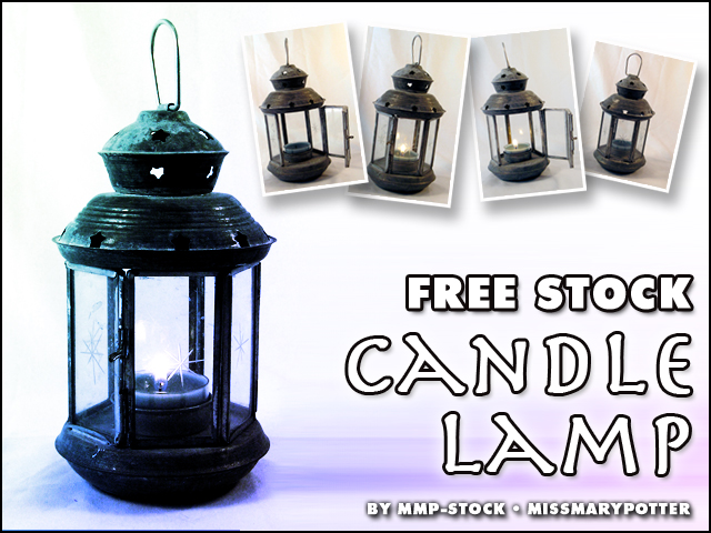 FREE STOCK, Candle Lamp