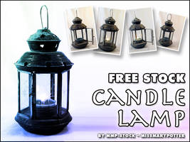 FREE STOCK, Candle Lamp by mmp-stock