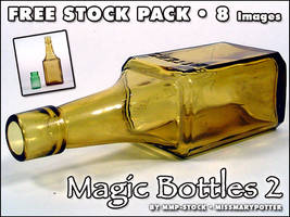 FREE STOCK, Magic Bottles 2 by mmp-stock