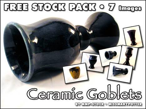 FREE STOCK, Ceramic Goblets