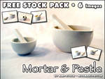 FREE STOCK, Mortar and Pestle