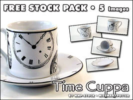 FREE STOCK, Time Cuppa Pack by mmp-stock