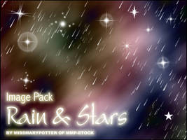 FREE IMAGE PACK, Rain and Star by mmp-stock