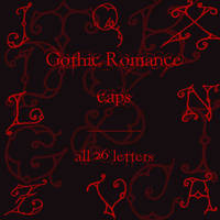 Gothic Romance caps by rL-Brushes