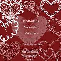 RedLillith's My Gothic Val. by rL-Brushes