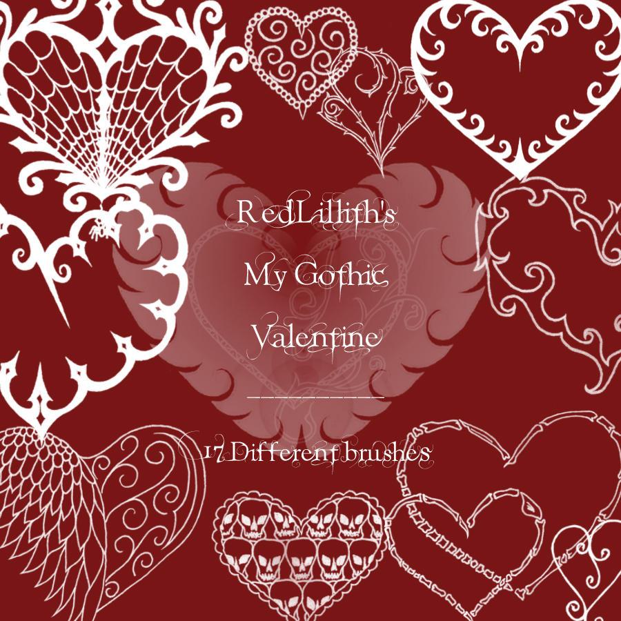 RedLillith's My Gothic Val. by rL-Brushes