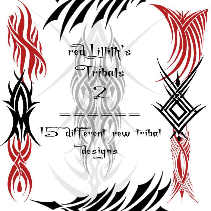RedLillith's Tribals 2 by rL-Brushes