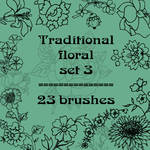 Traditional floral 3