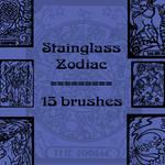 Stainglass Zodiac