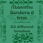 Absinthe Borders and trim