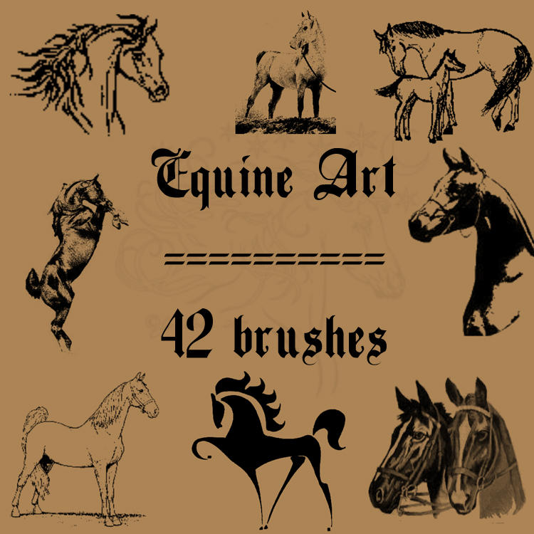 Equine Art by rL-Brushes