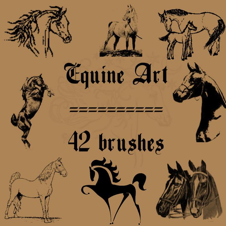 Equine Art by rL-Brushes