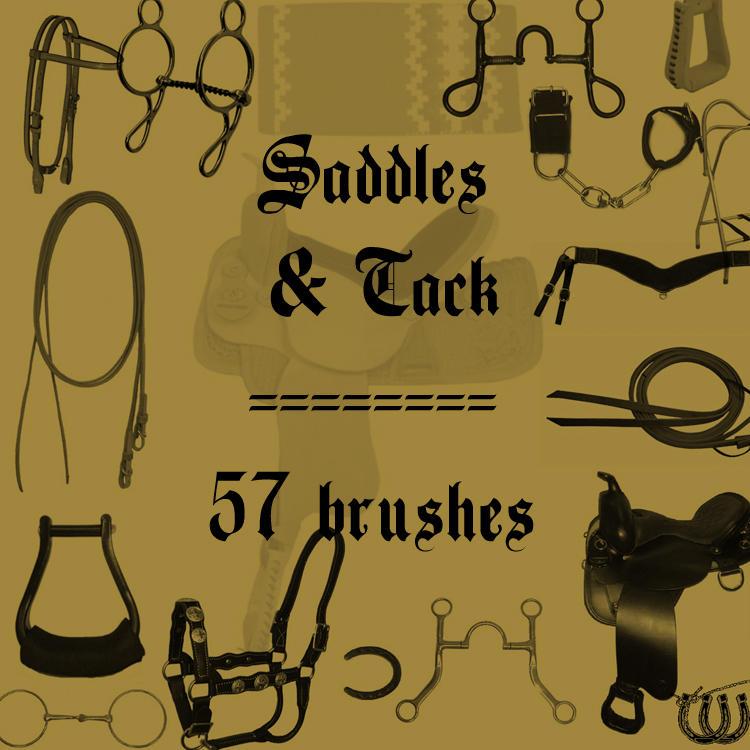 Saddles and Tack by rL-Brushes