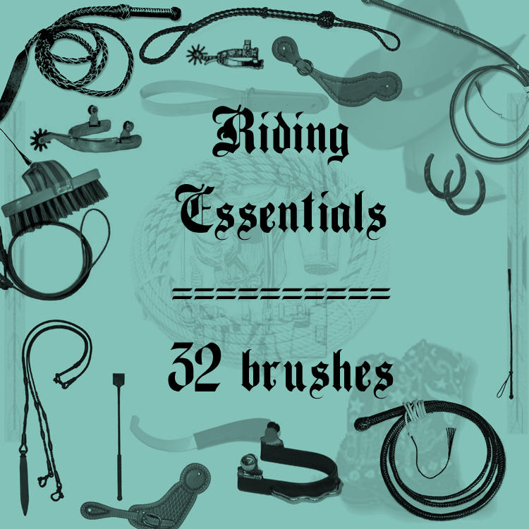 Riding Essentials by rL-Brushes