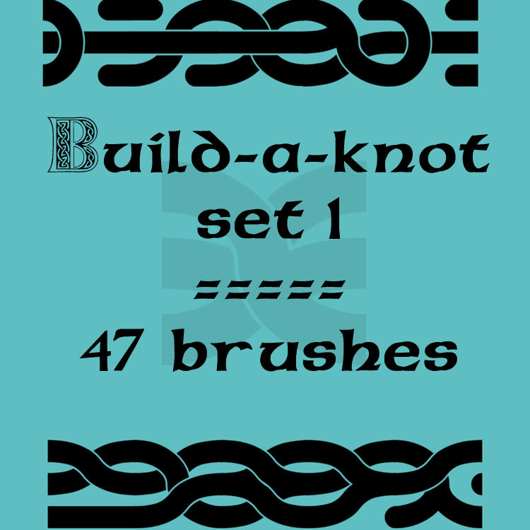 Build-a-knot 1 by rL-Brushes