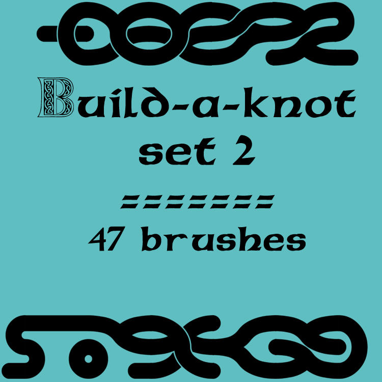 Build-a-knot 2 by rL-Brushes