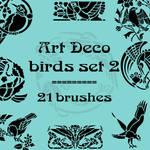 Art Deco birds 2