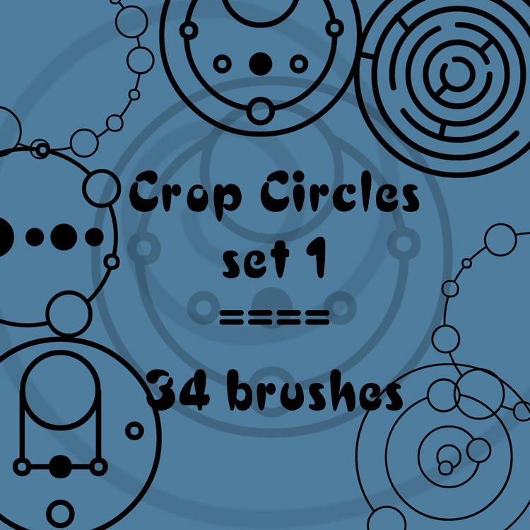Crop Circles 1 by rL-Brushes