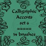 Calligriphic Accents 6