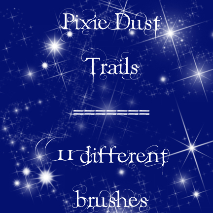 Pixie Dust Trails brushes