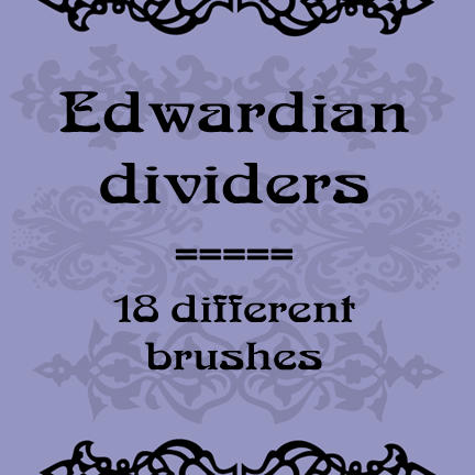 Edwardian dividers by rL-Brushes