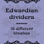 Edwardian dividers