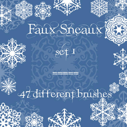 Faux Sneaux 1 by rL-Brushes