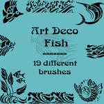 Art Deco fish