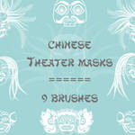 Chinese Theater Masks