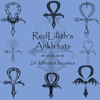 RedLillith's Ankh tats by rL-Brushes