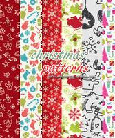 Christmas Patterns (sistaroundpsds) by arryastark