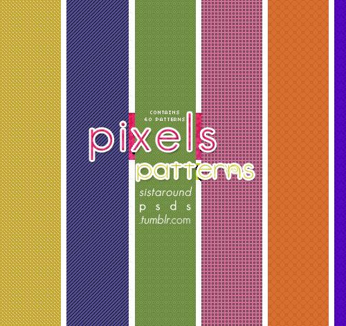 60 Pixels Patterns by arryastark