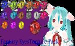 MMD Fantasy Eyes Texture Pack