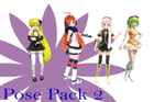 MMD Pose Pack 2